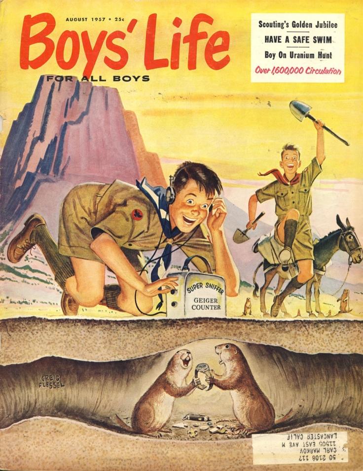 boys life aug 1957