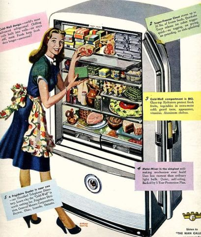 Frigidaire Cold Wall, 1947