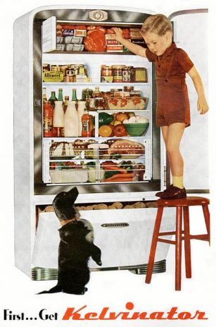 Kelvinator ad, 1947