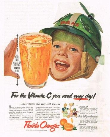 Florida Oranges Ad, nd.